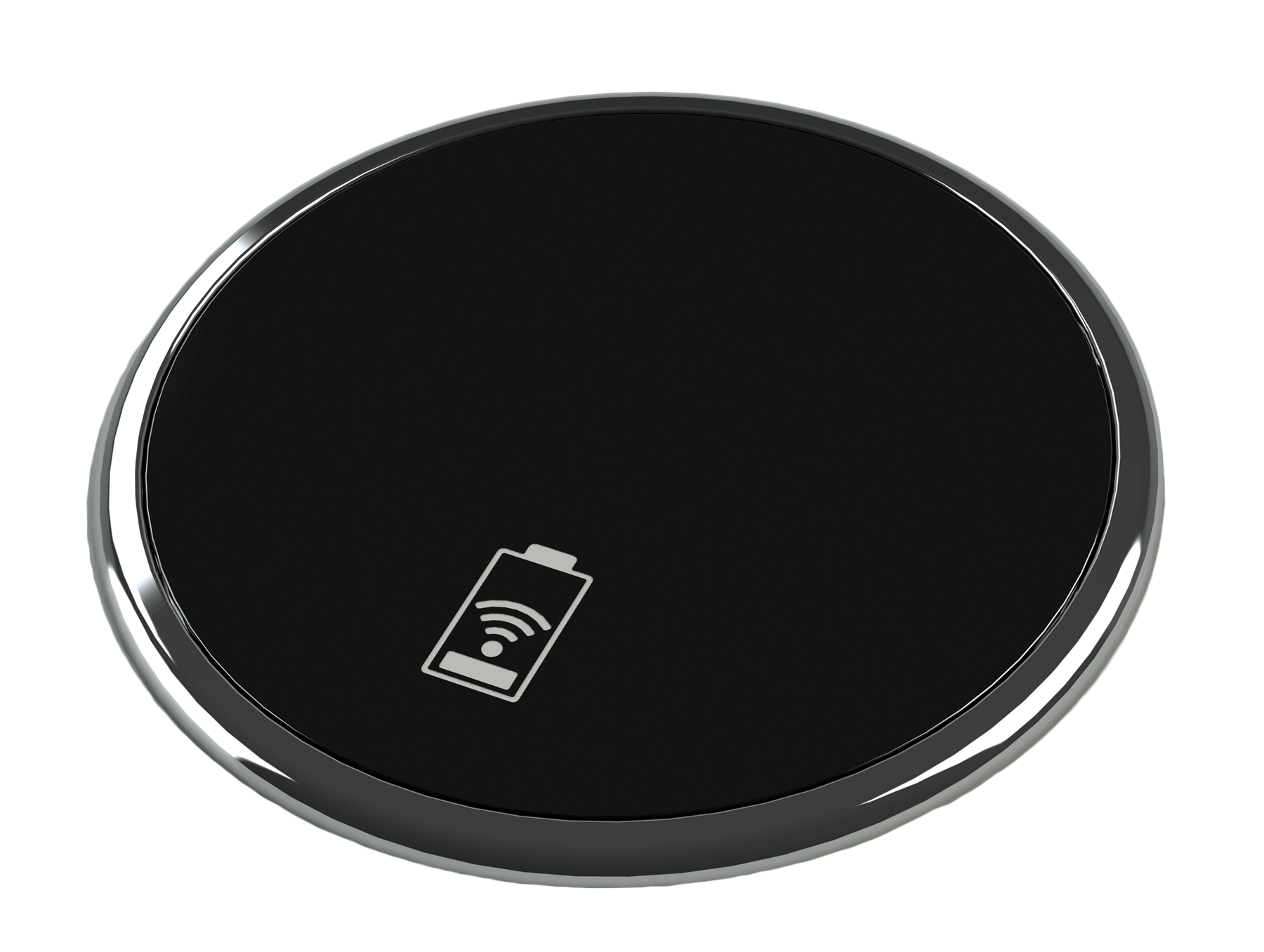 Black Porthole III Wireless Charger