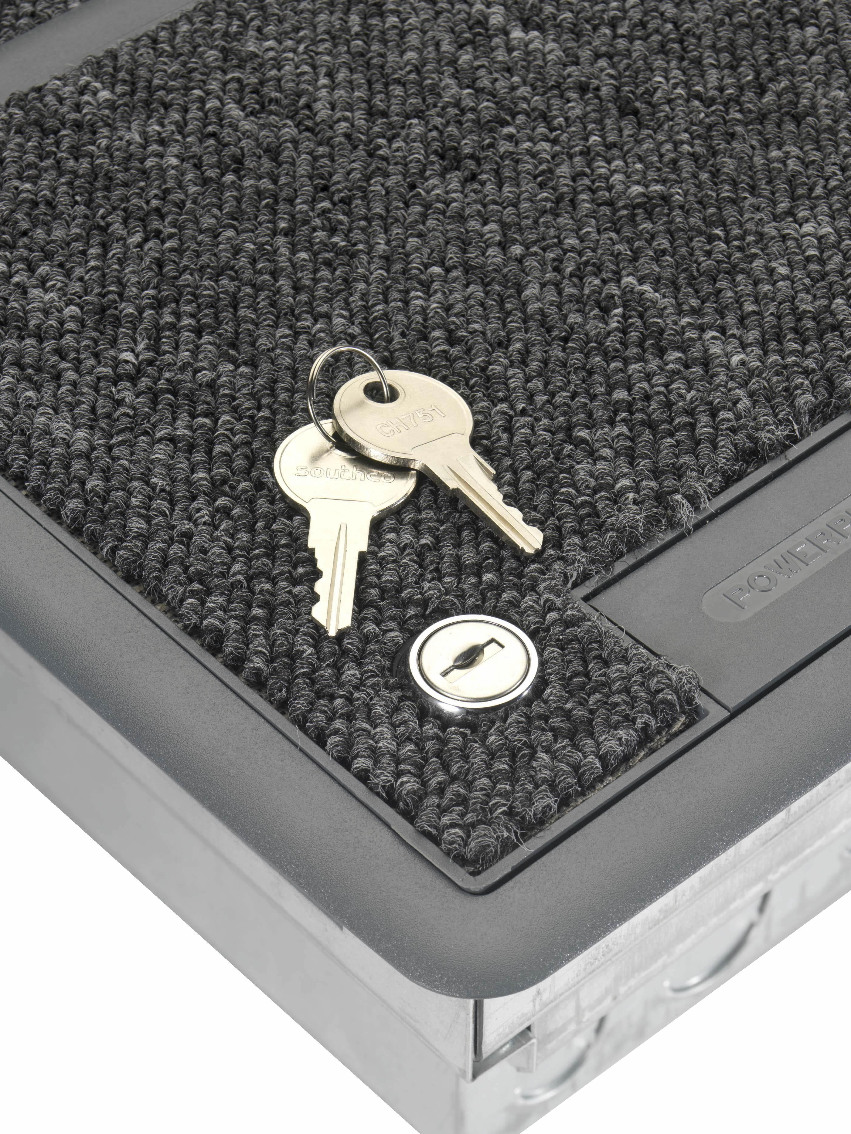 Floorbox Lockable Lid Option Cmd Ltd