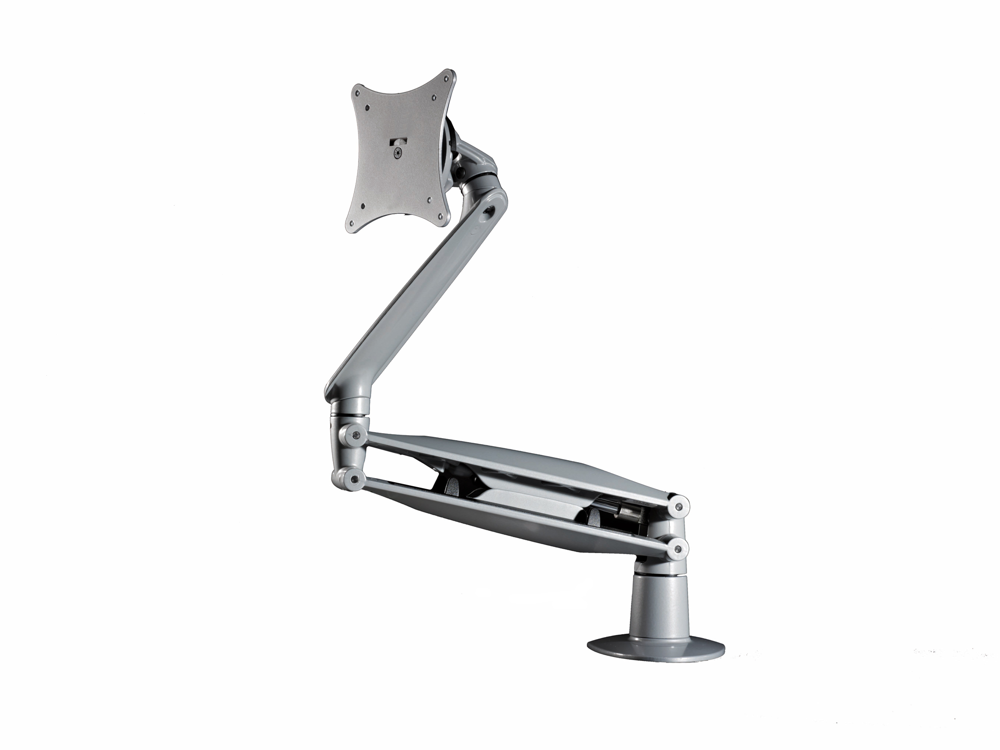 Cygnus Silver Monitor Arm