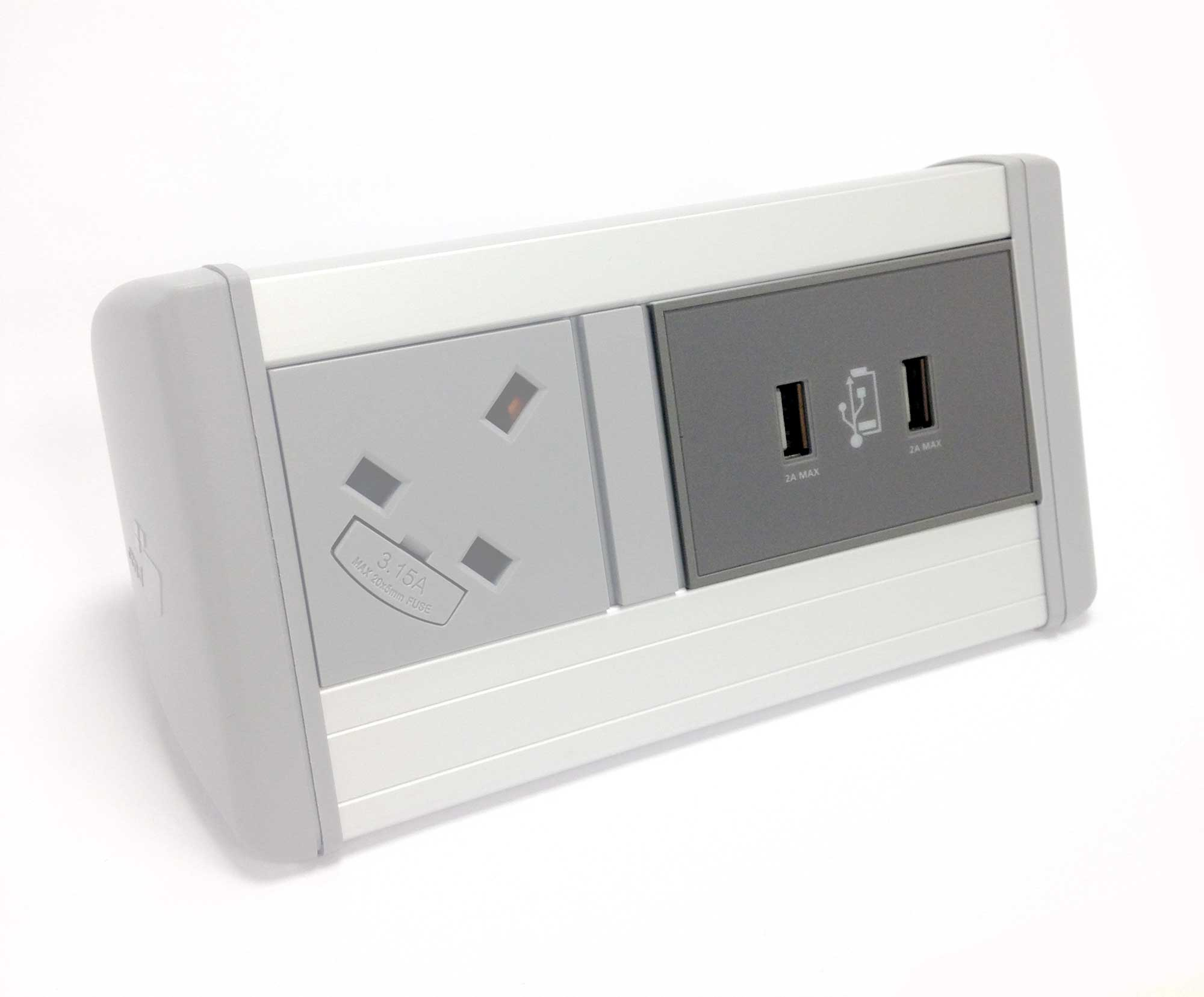 Twin Port 4A USB Charger (2A per USB Port)