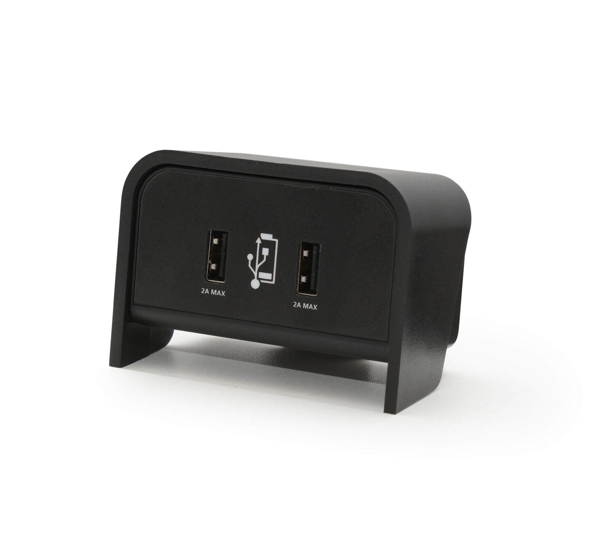 Chip on desk 4A USB charger - Black