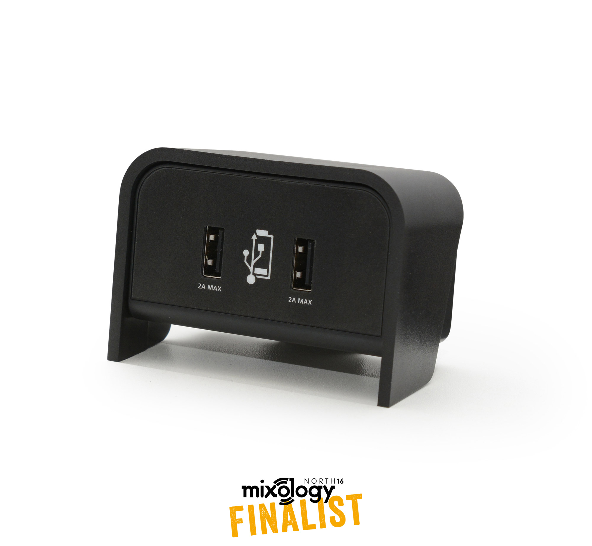 Chip On Desk 4A Twin Port USB Charger
