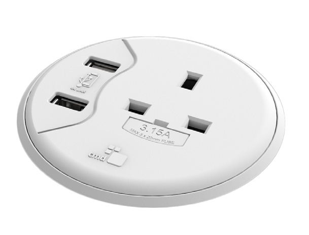 Porthole IV Power & 4A USB Charger