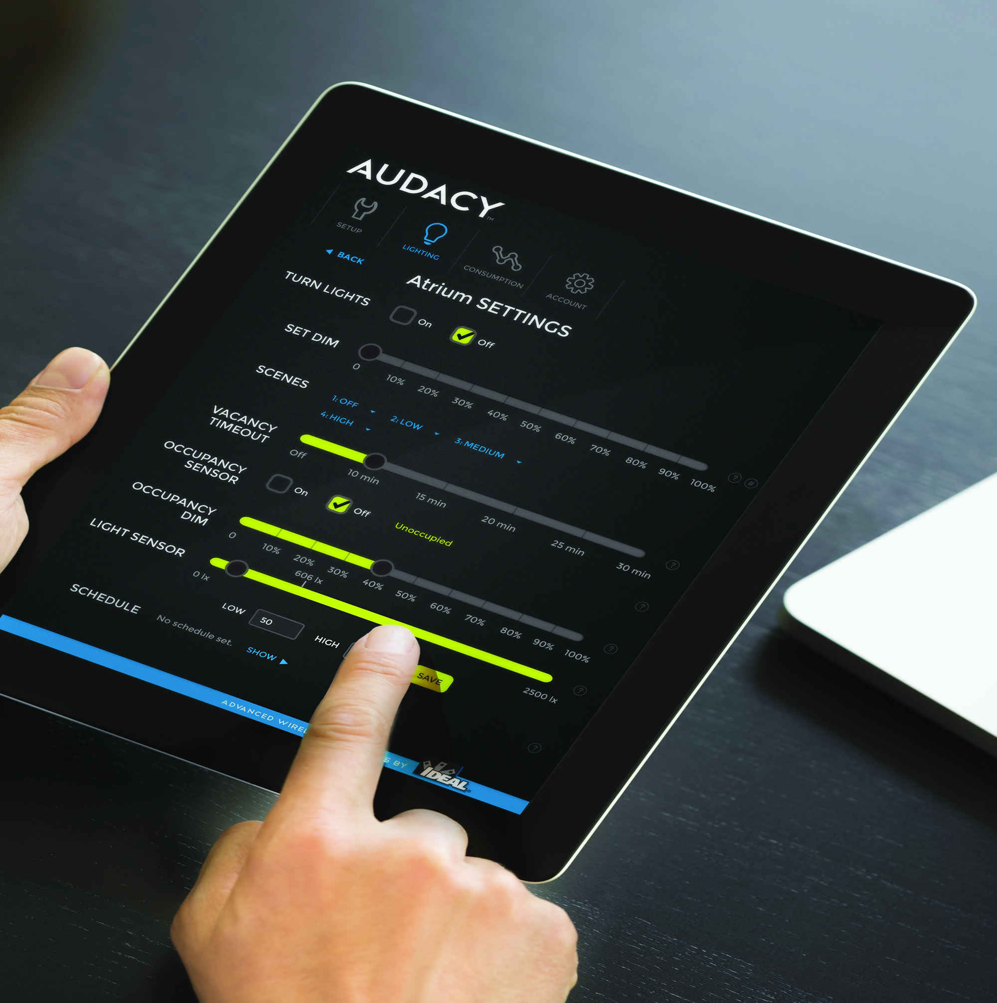 AUDACY WIRELESS LIGHTING CONTROLS BY CMD