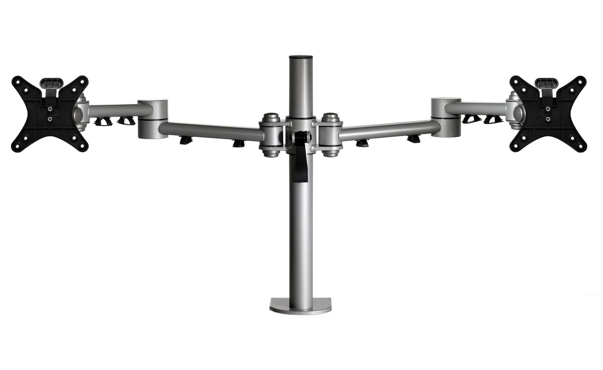 Vision Heavy Duty Dual Monitor Pole Arm