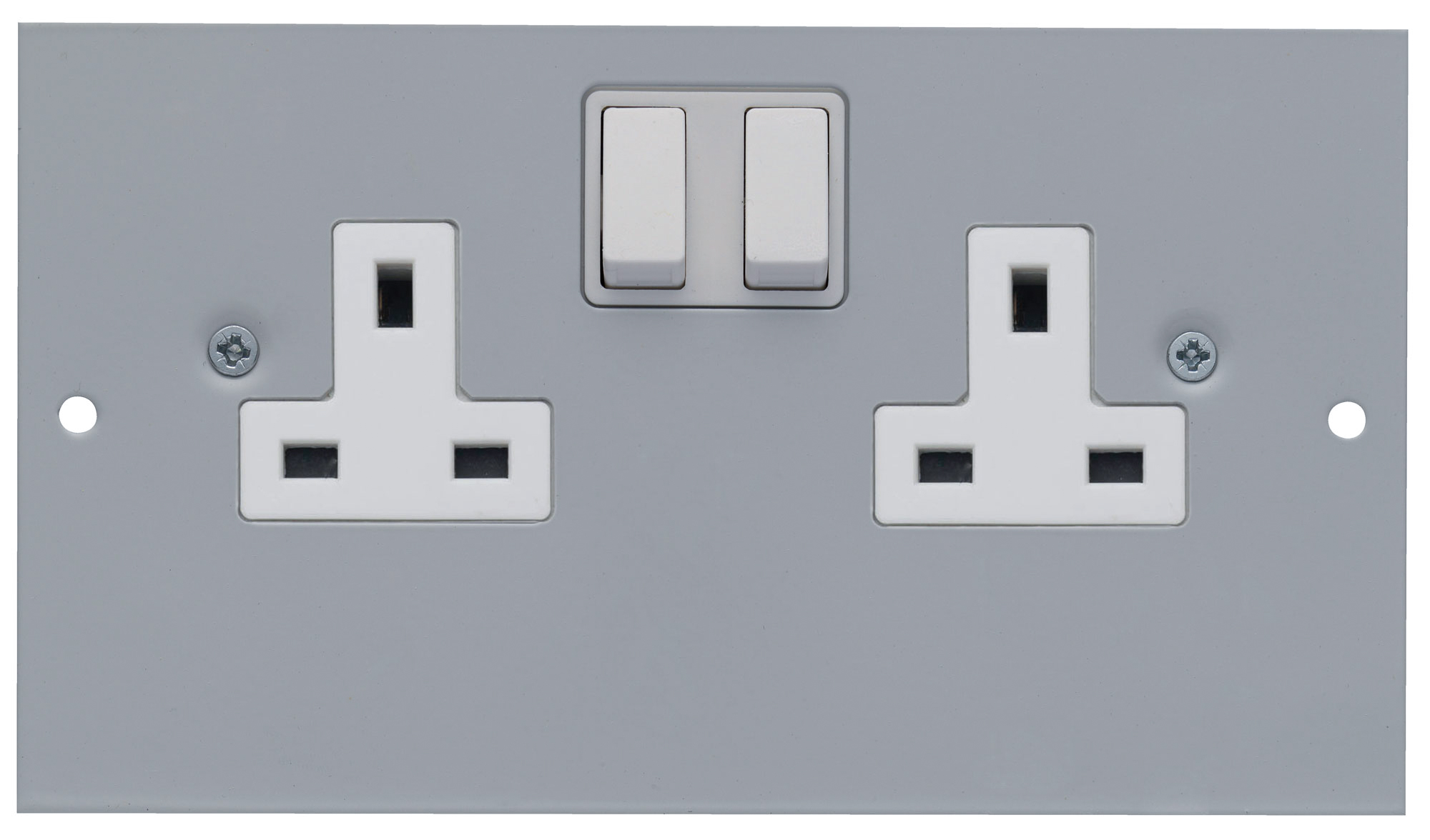 1 Twin 13A Switched Socket