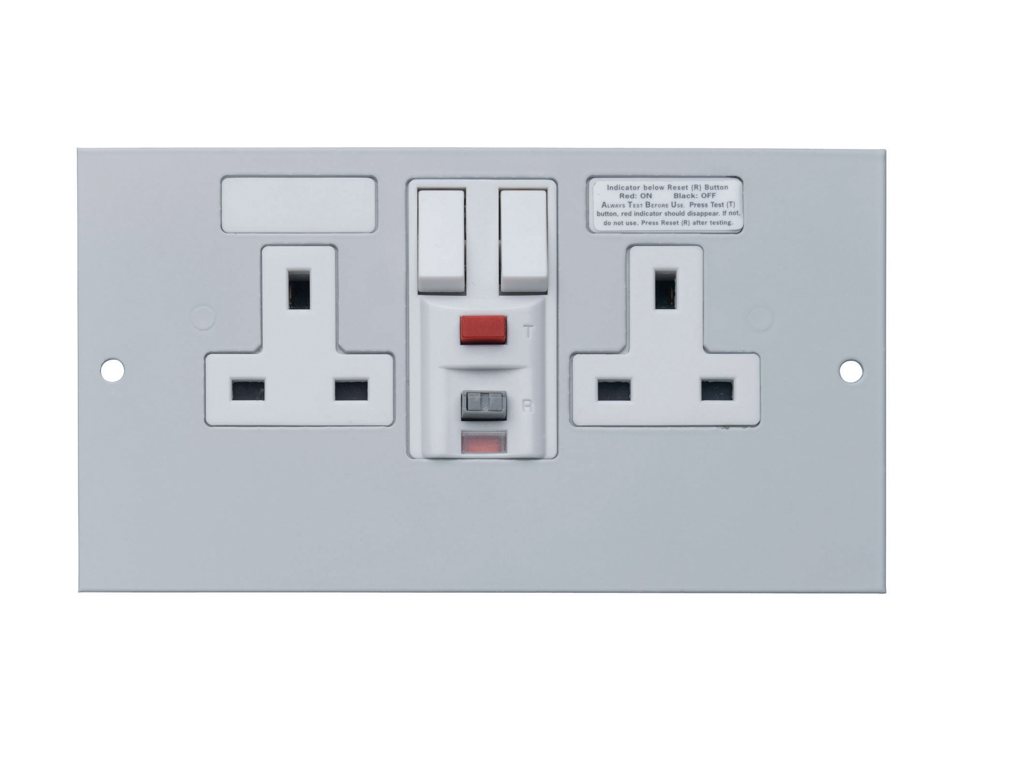 1 Twin RCD Socket