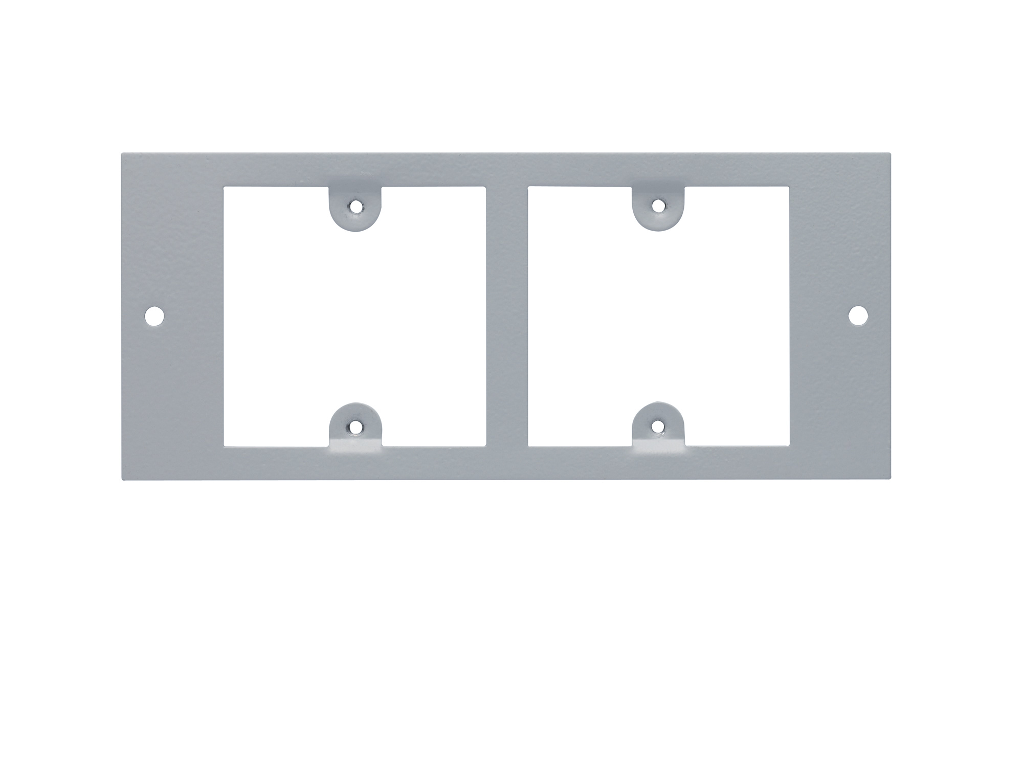 Plate to accept 2 x LJ2 Telephone Outlets